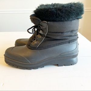 "SOREL ""Badger"" lace up winter snow boots"